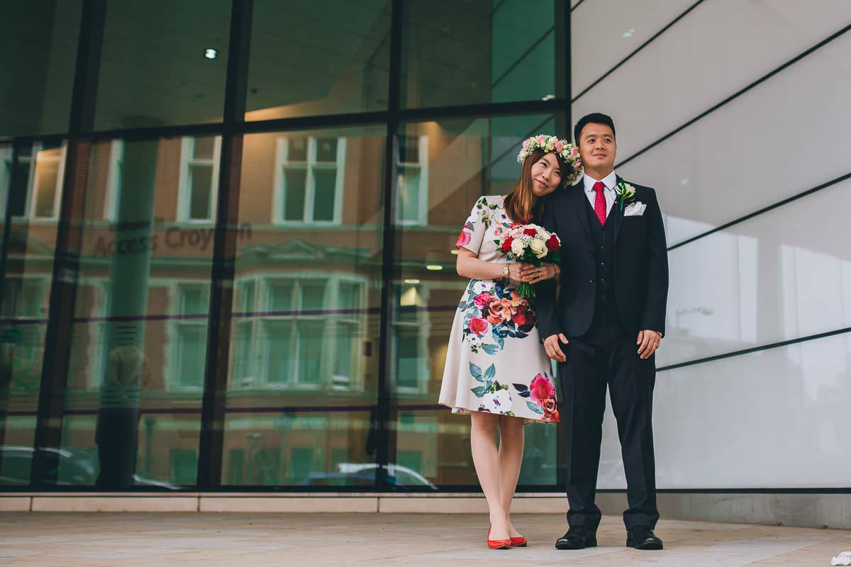 Croydon Register Office - London wedding photographer 33