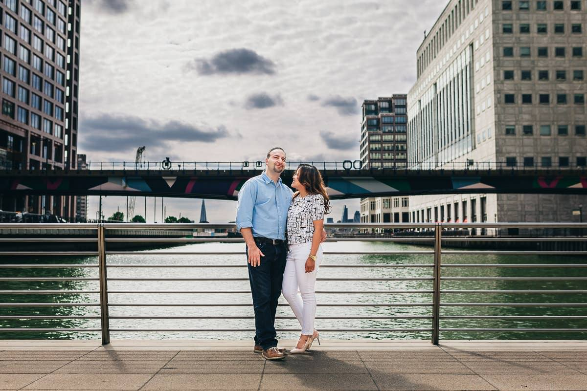Holy and Maciej - Engagement shoot in Greenwich 3