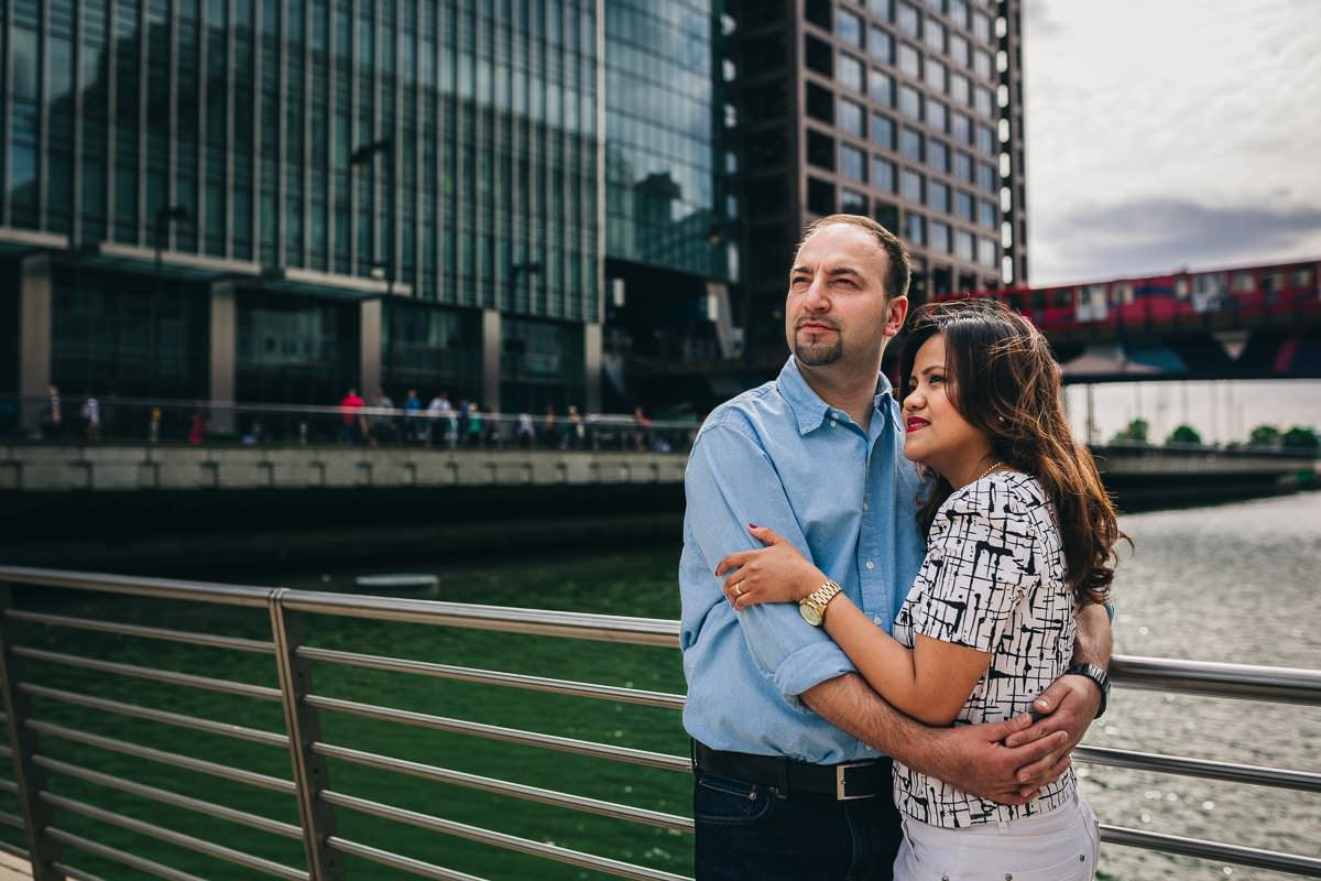 Holy and Maciej - Engagement shoot in Greenwich 4