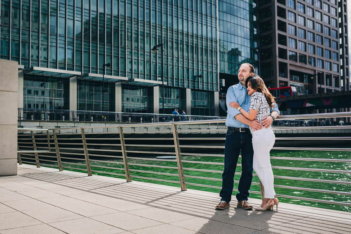 Holy and Maciej - Engagement shoot in Greenwich 5