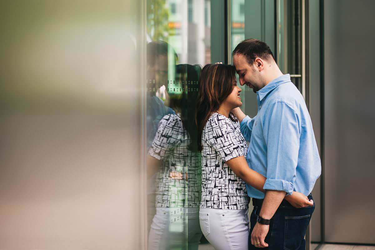 Holy and Maciej - Engagement shoot in Greenwich 7