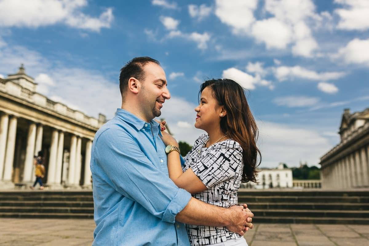 Holy and Maciej - Engagement shoot in Greenwich 8