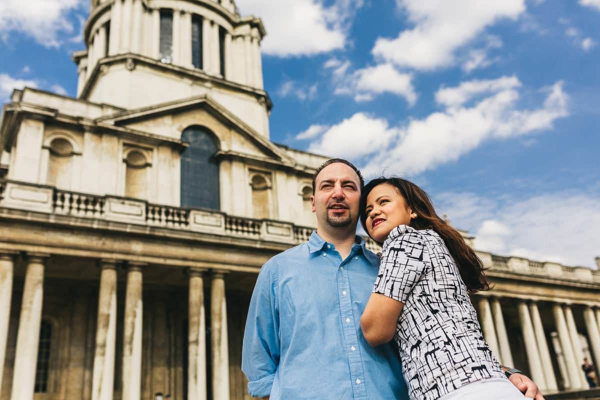 Holy and Maciej - Engagement shoot in Greenwich 9