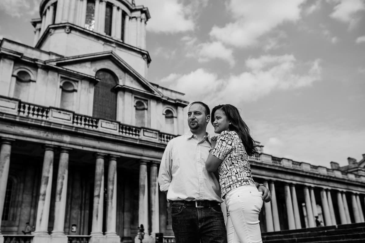 Holy and Maciej - Engagement shoot in Greenwich 15