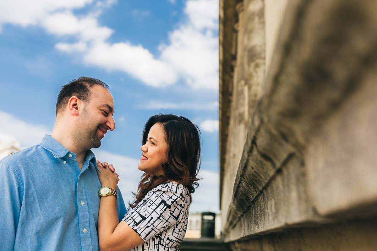 Holy and Maciej - Engagement shoot in Greenwich 10