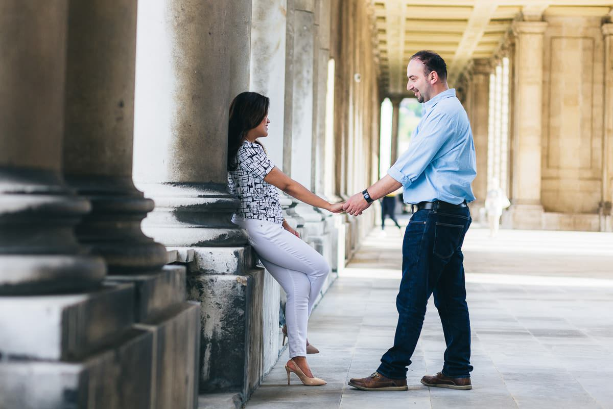 Holy and Maciej - Engagement shoot in Greenwich 11