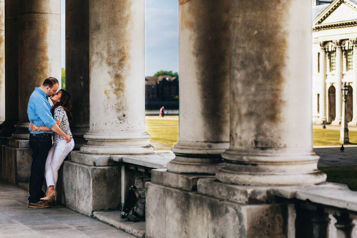 Holy and Maciej - Engagement shoot in Greenwich 12