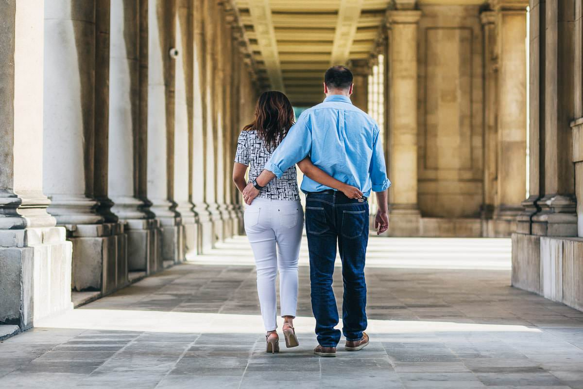 Holy and Maciej - Engagement shoot in Greenwich 13