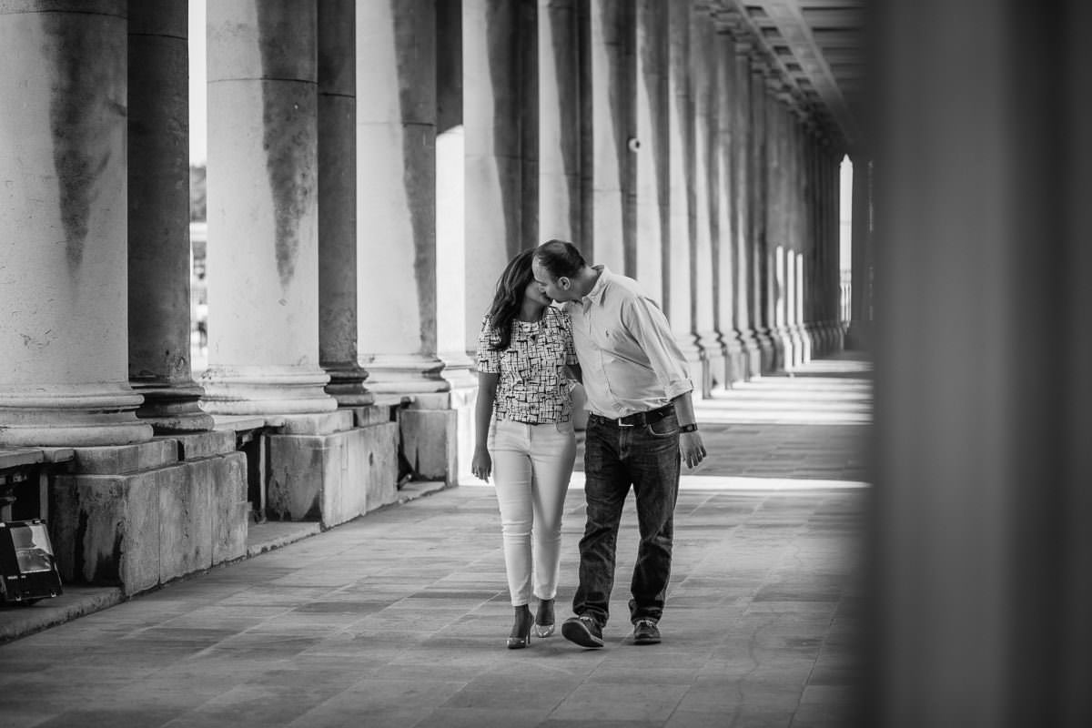 Holy and Maciej - Engagement shoot in Greenwich 14