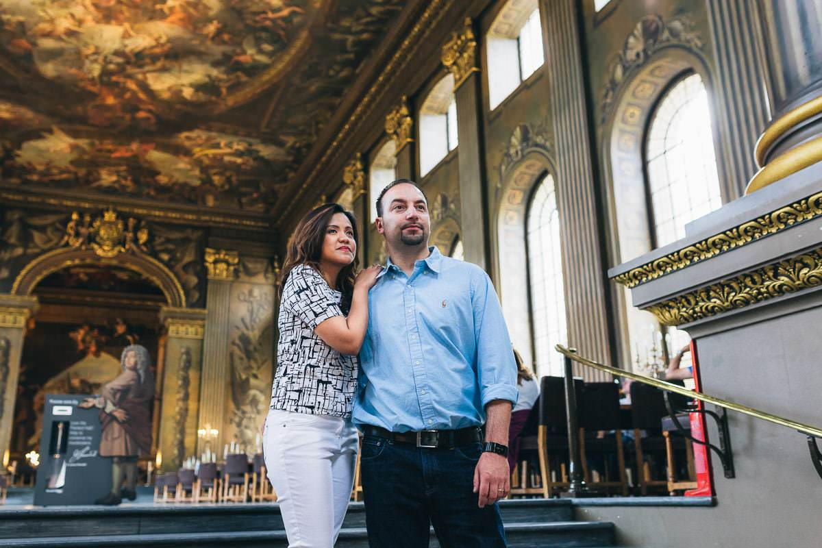 Holy and Maciej - Engagement shoot in Greenwich 16