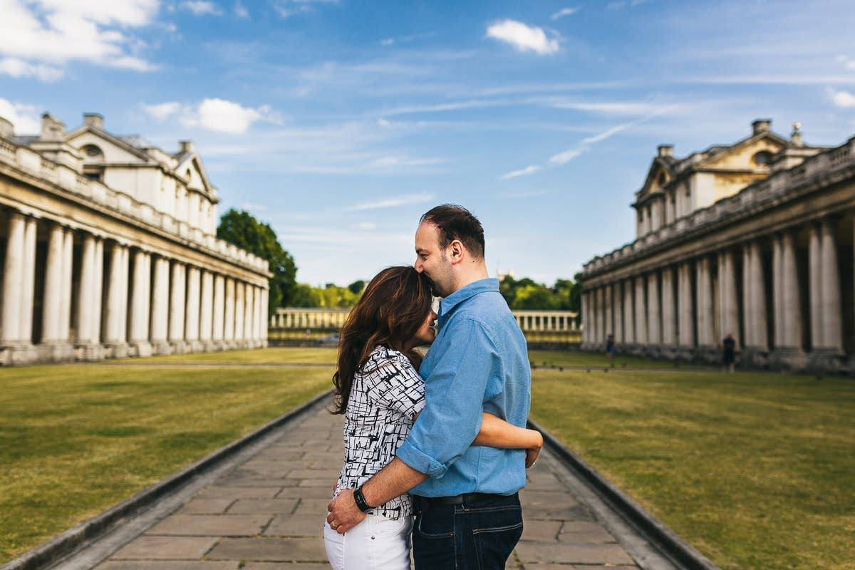 Holy and Maciej - Engagement shoot in Greenwich 17
