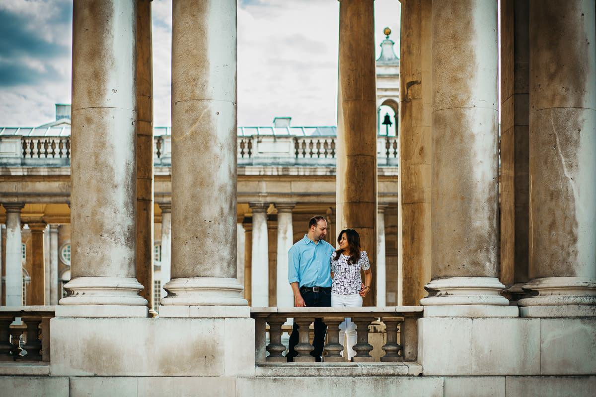 Holy and Maciej - Engagement shoot in Greenwich 19