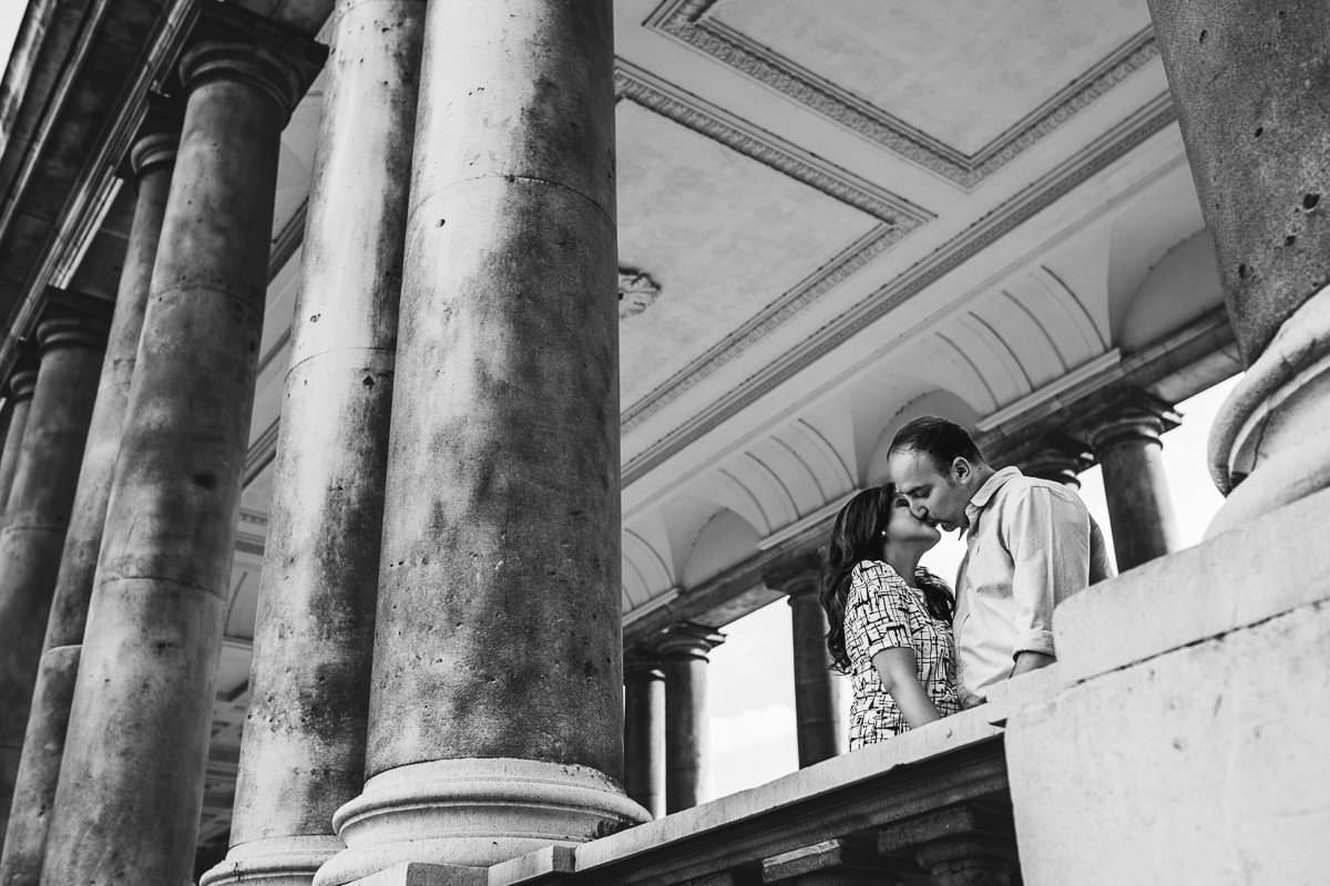 Holy and Maciej - Engagement shoot in Greenwich 21