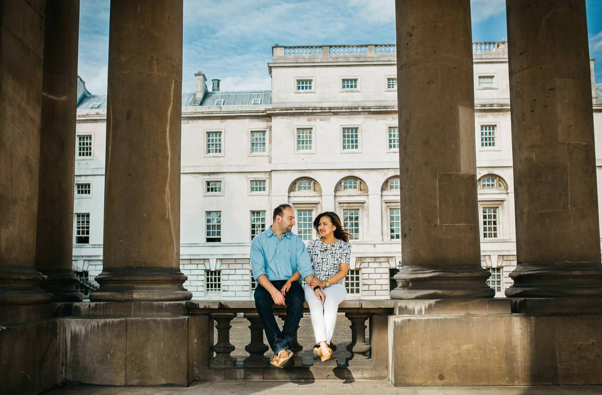 Holy and Maciej - Engagement shoot in Greenwich 22