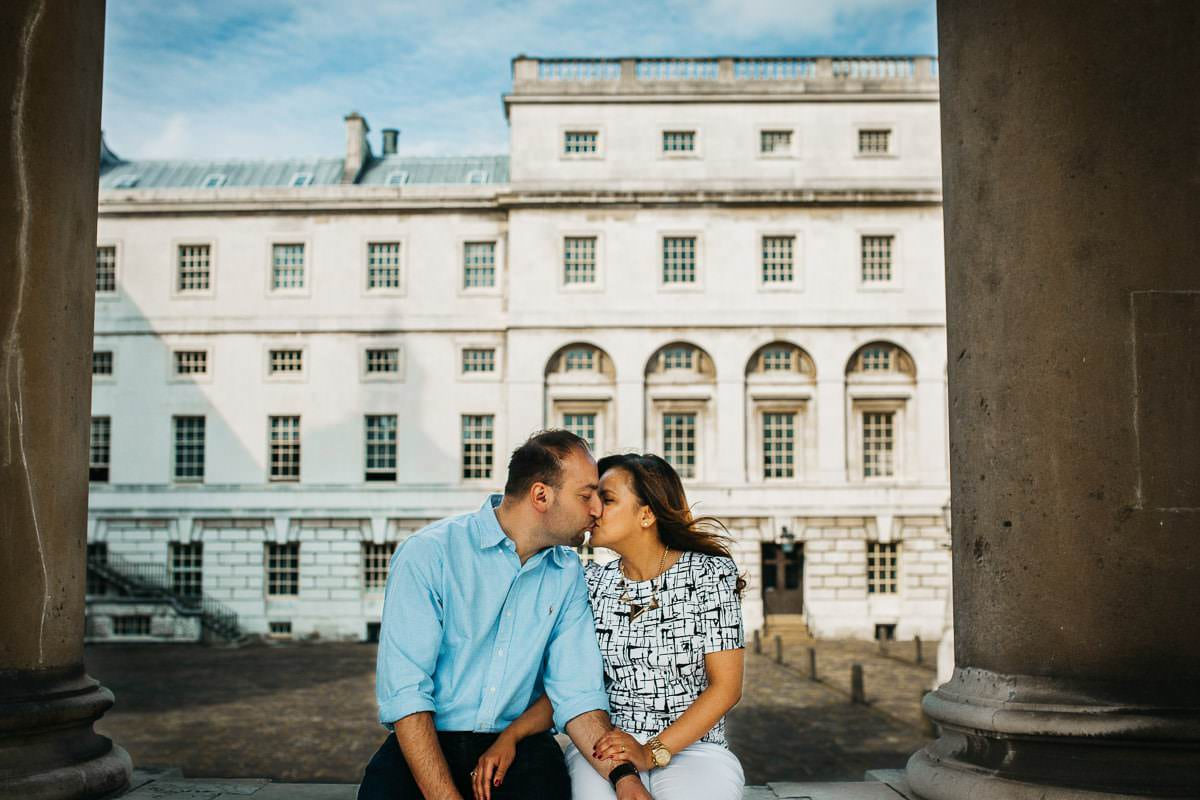 Holy and Maciej - Engagement shoot in Greenwich 23