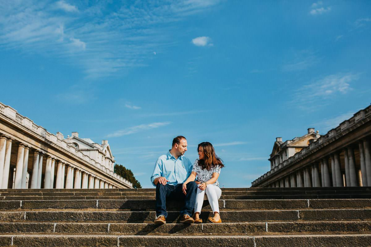 Holy and Maciej - Engagement shoot in Greenwich 24