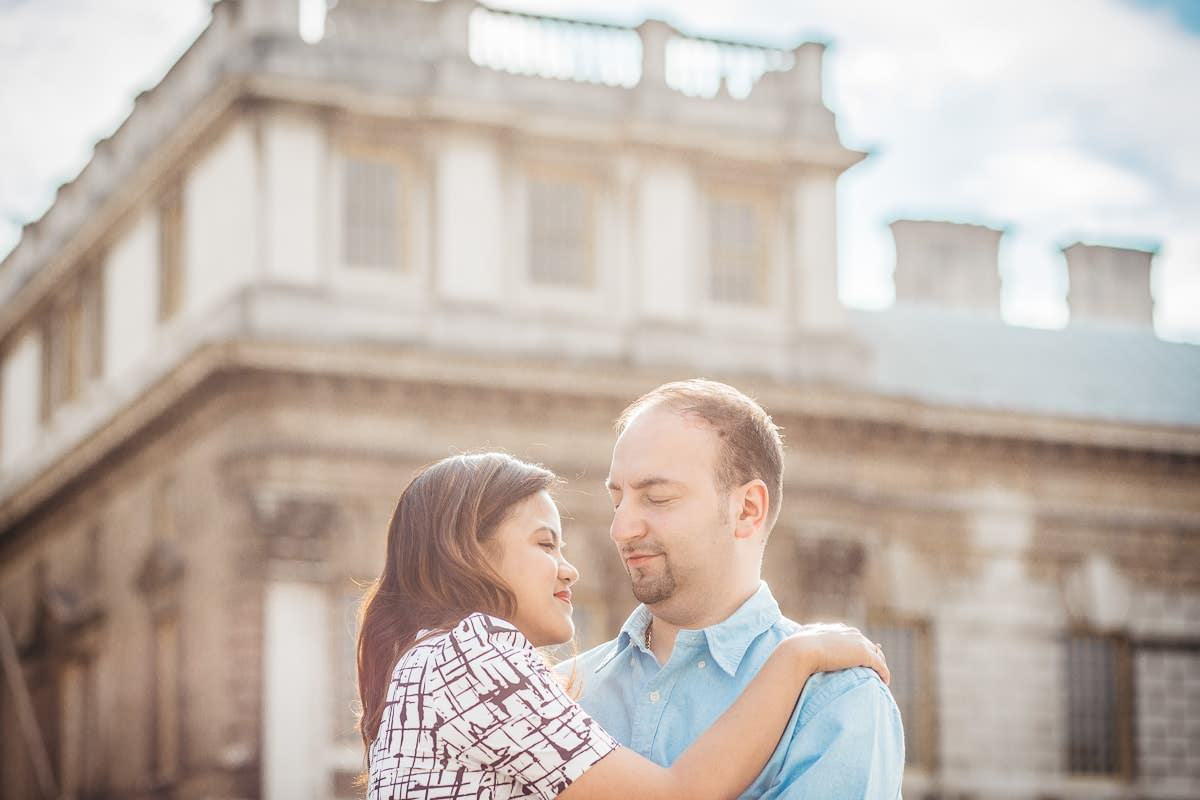 Holy and Maciej - Engagement shoot in Greenwich 26