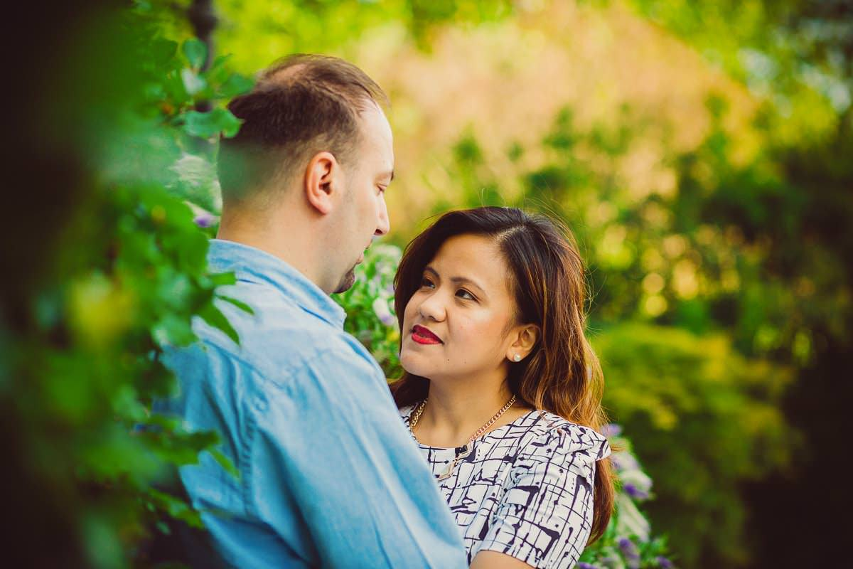 Holy and Maciej - Engagement shoot in Greenwich 31