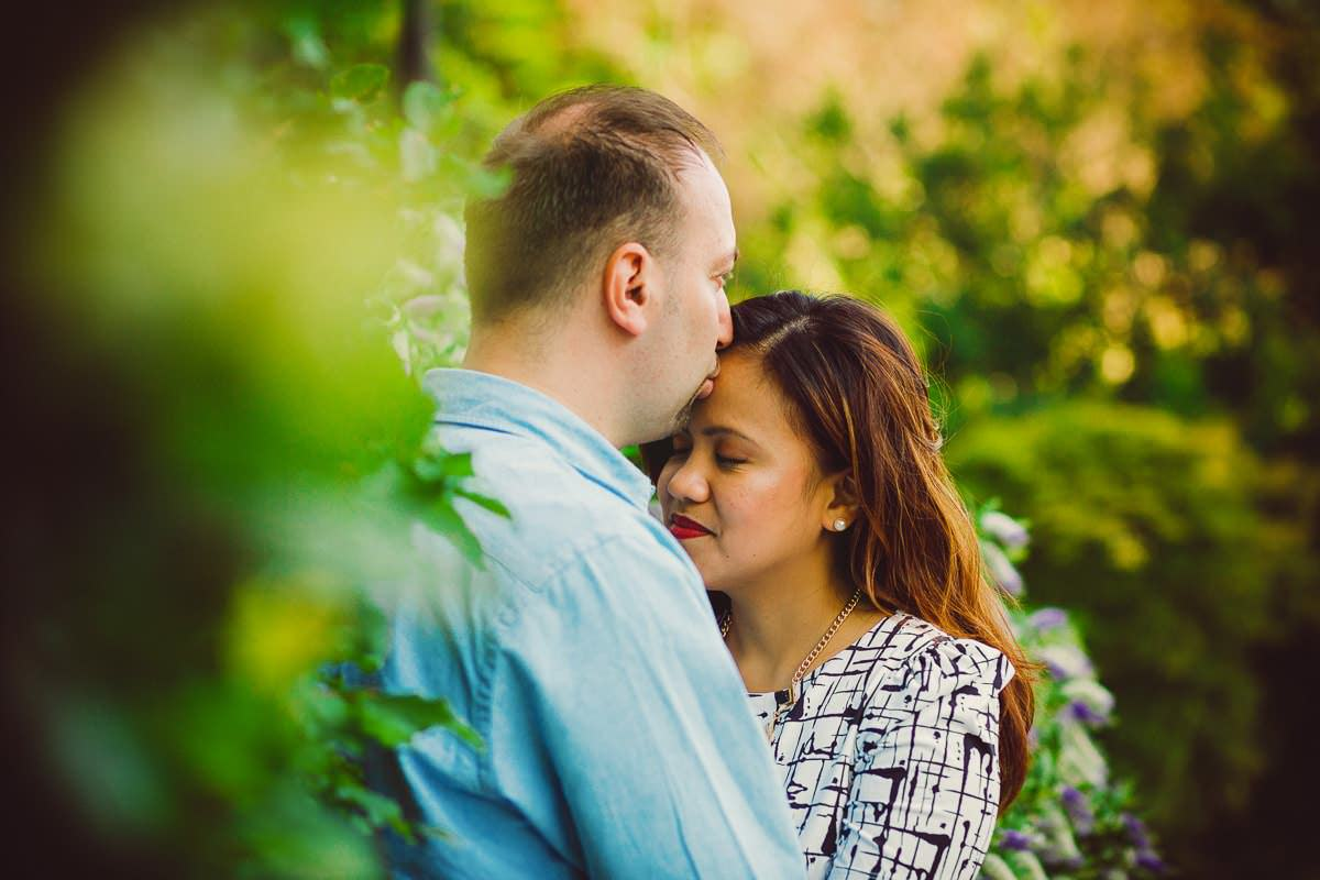 Holy and Maciej - Engagement shoot in Greenwich 29