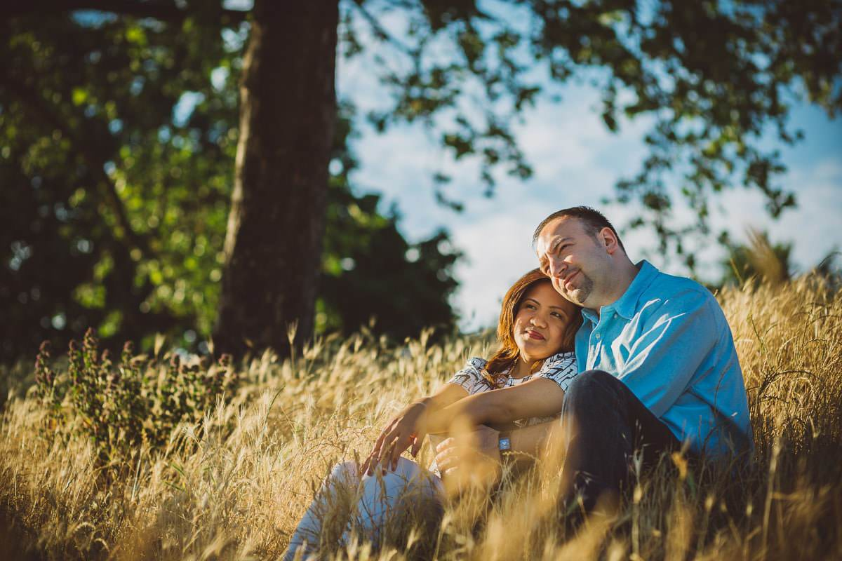 Holy and Maciej - Engagement shoot in Greenwich 34