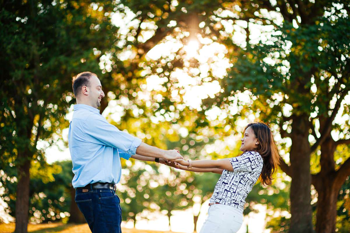 Holy and Maciej - Engagement shoot in Greenwich 36
