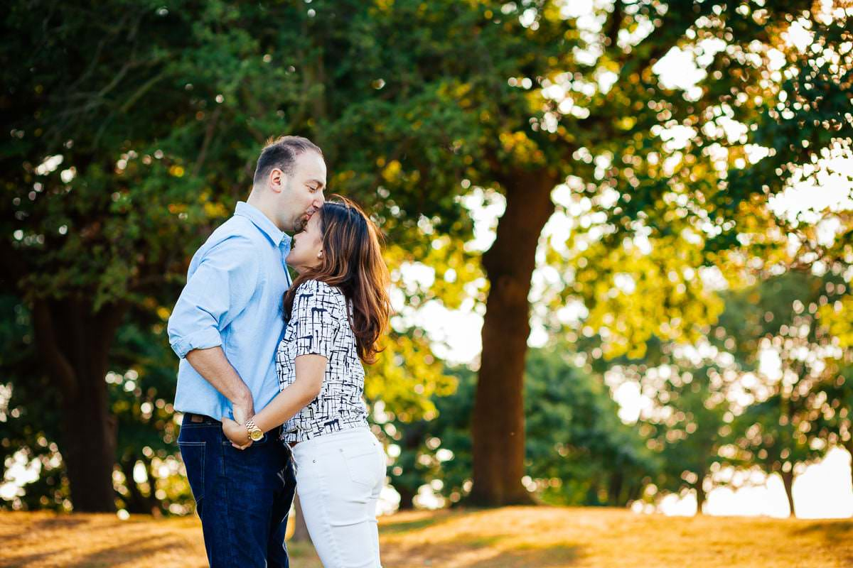 Holy and Maciej - Engagement shoot in Greenwich 37