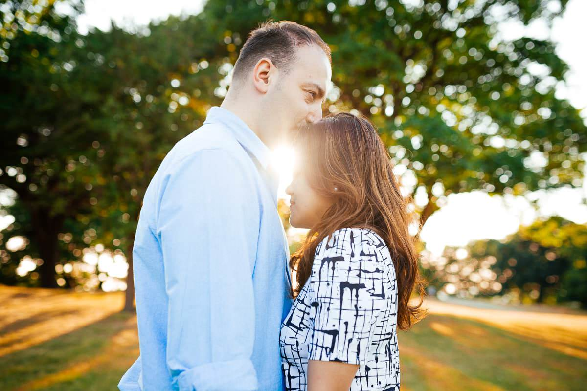 Holy and Maciej - Engagement shoot in Greenwich 35