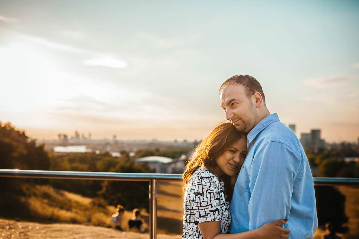 Holy and Maciej - Engagement shoot in Greenwich 40