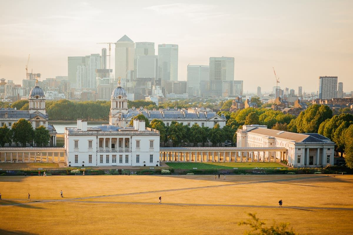 Holy and Maciej - Engagement shoot in Greenwich 44