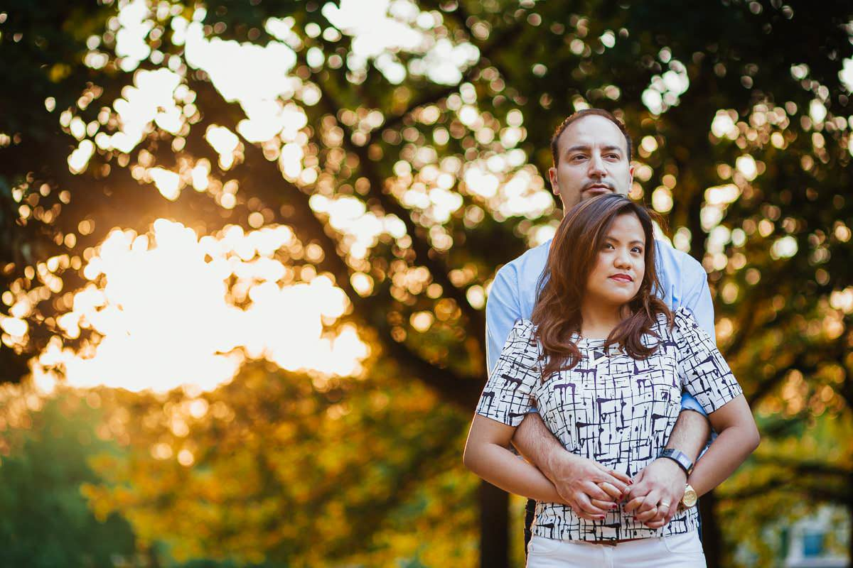 Holy and Maciej - Engagement shoot in Greenwich 42