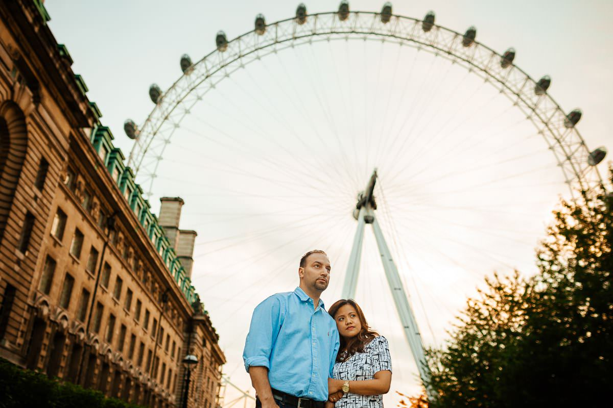 Holy and Maciej - Engagement shoot in Greenwich 43