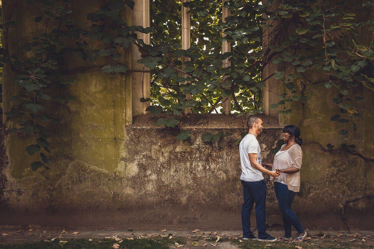 Joyce and Tim - Engagement shoot London 1