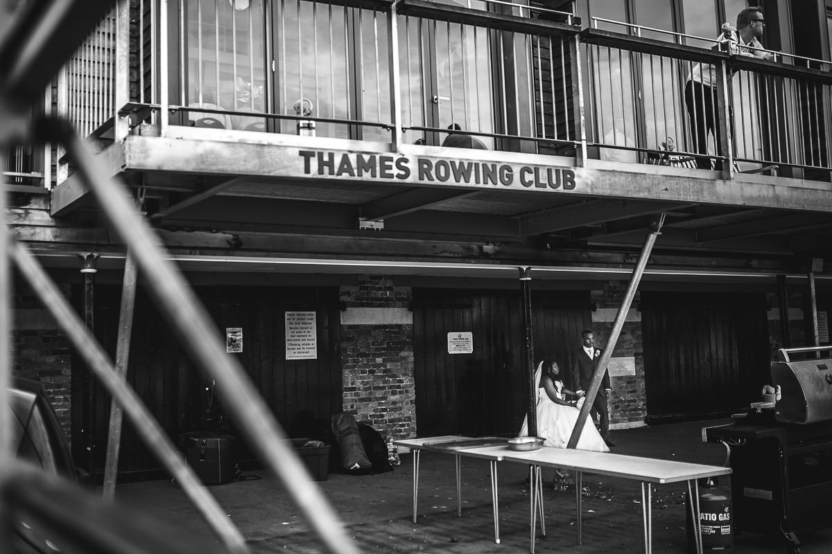 Thames Rowing Club - London wedding photographer 35