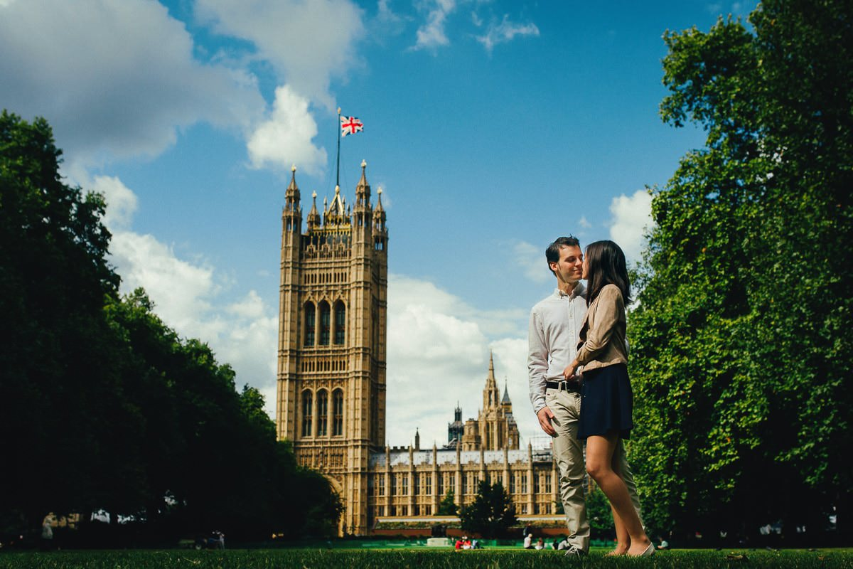 Sandra and Daniel - Engagement shoot in London 3