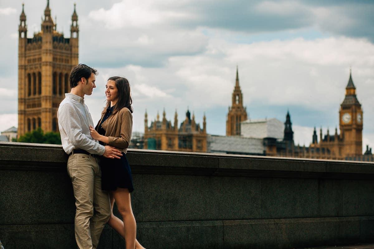 Sandra and Daniel - Engagement shoot in London 8