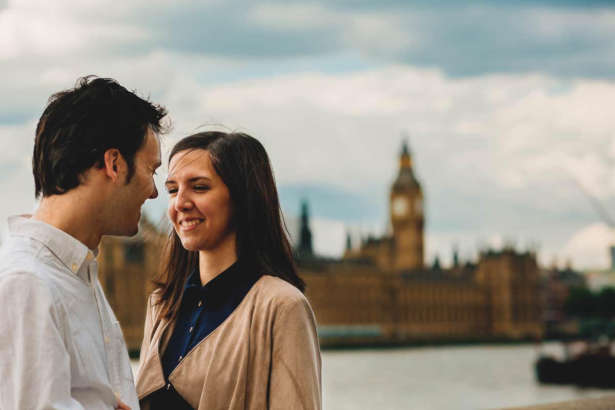 Sandra and Daniel - Engagement shoot in London 9