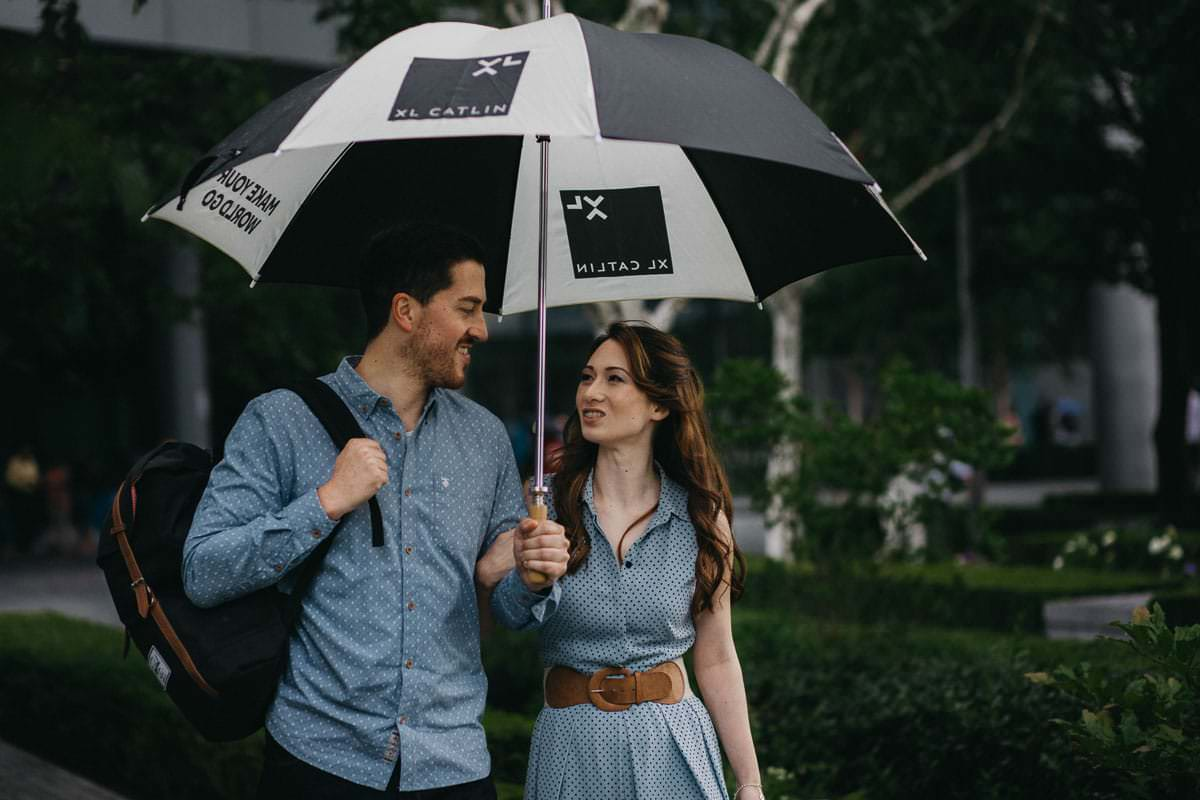 Hannah and Tom - engagement shoot London 11