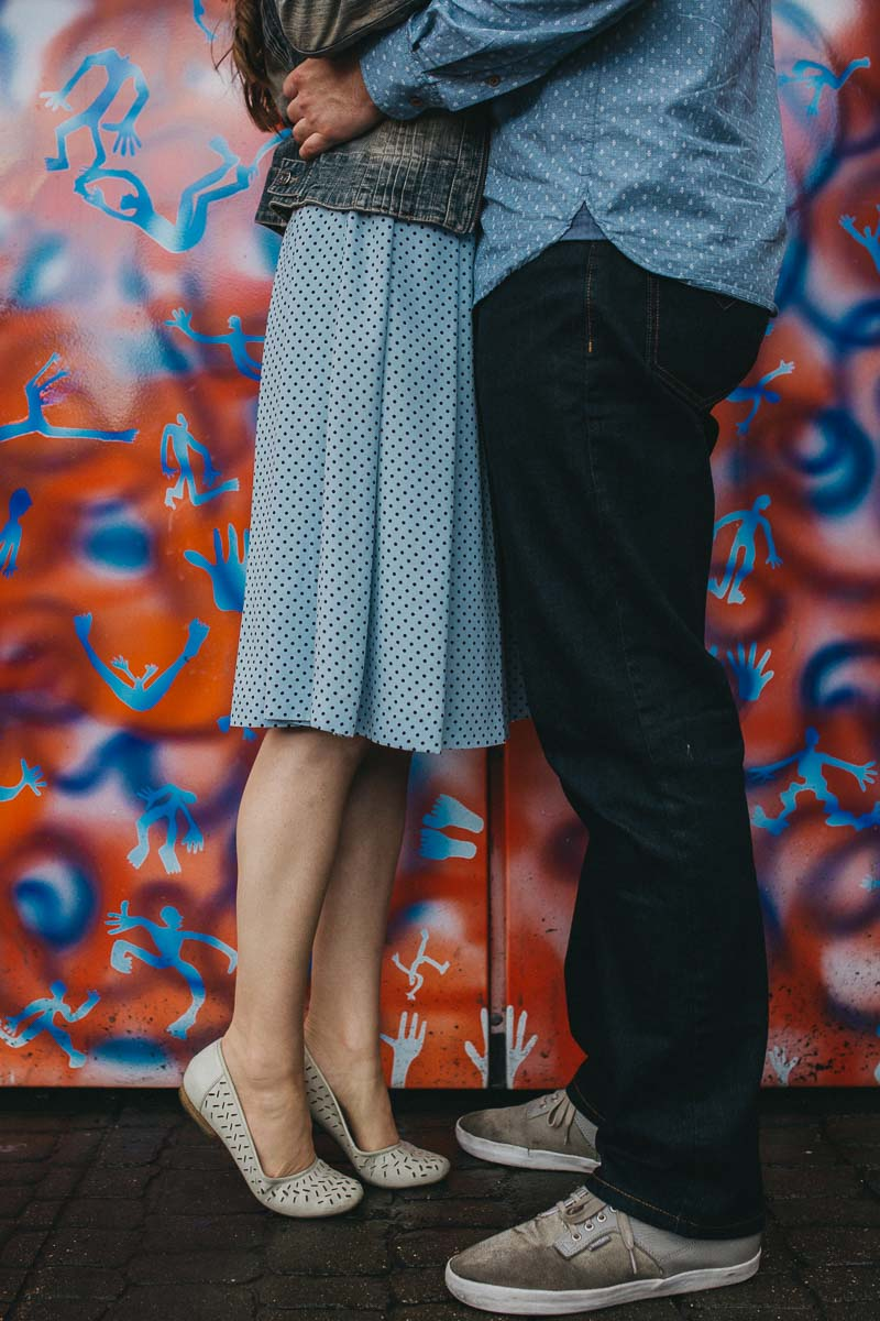 Hannah and Tom - engagement shoot London 17