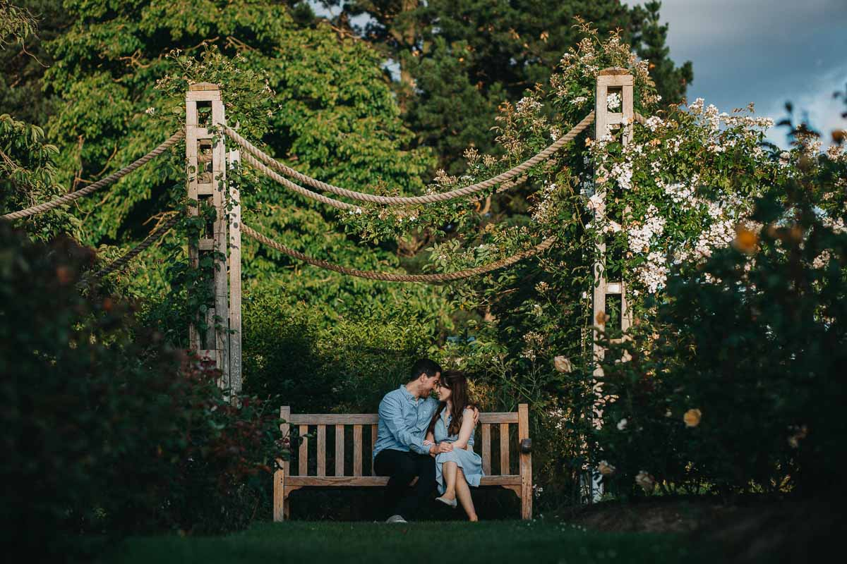 Hannah and Tom - engagement shoot London 28
