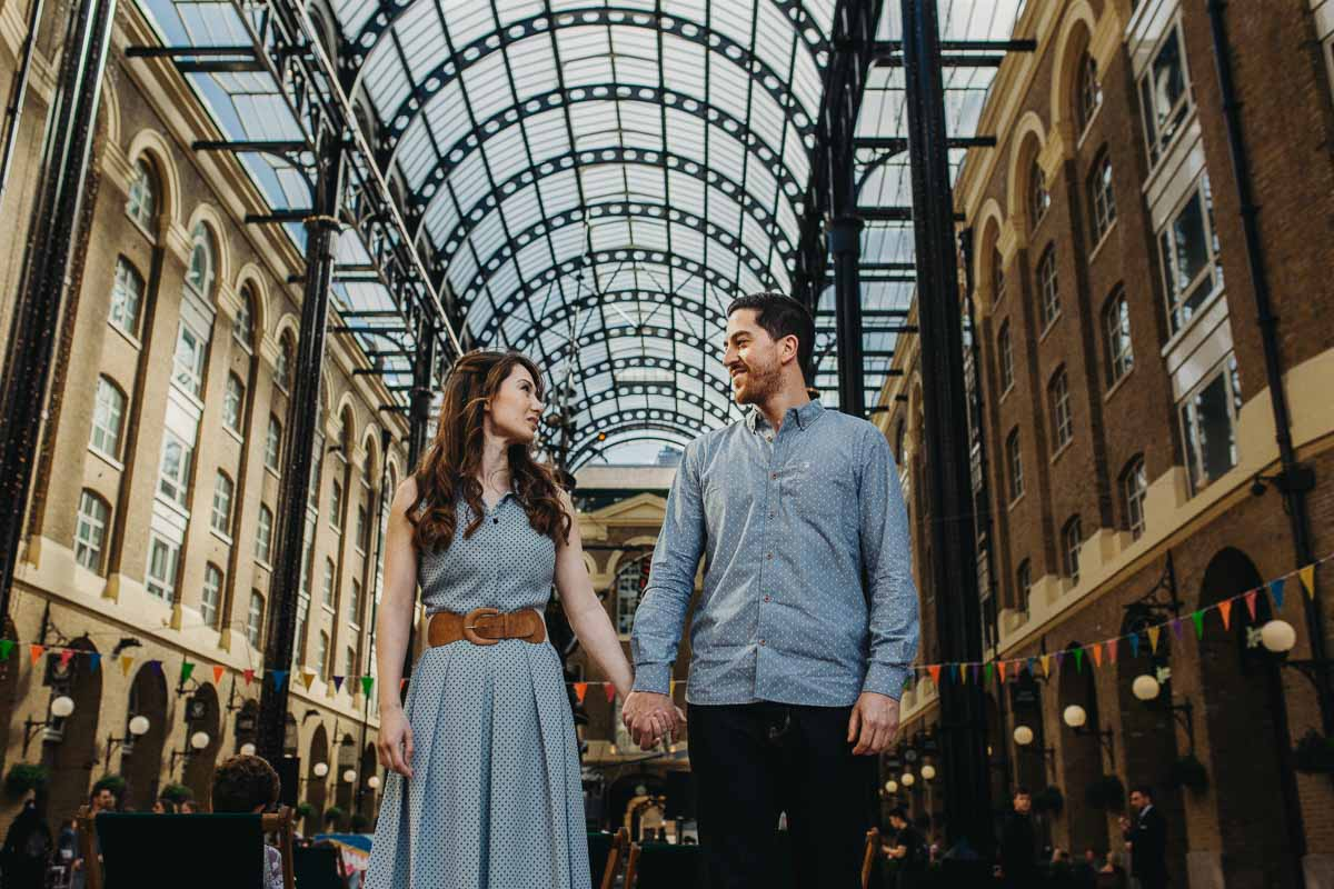 Hannah and Tom - engagement shoot London 4