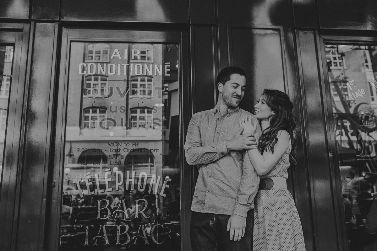Hannah and Tom - engagement shoot London 5