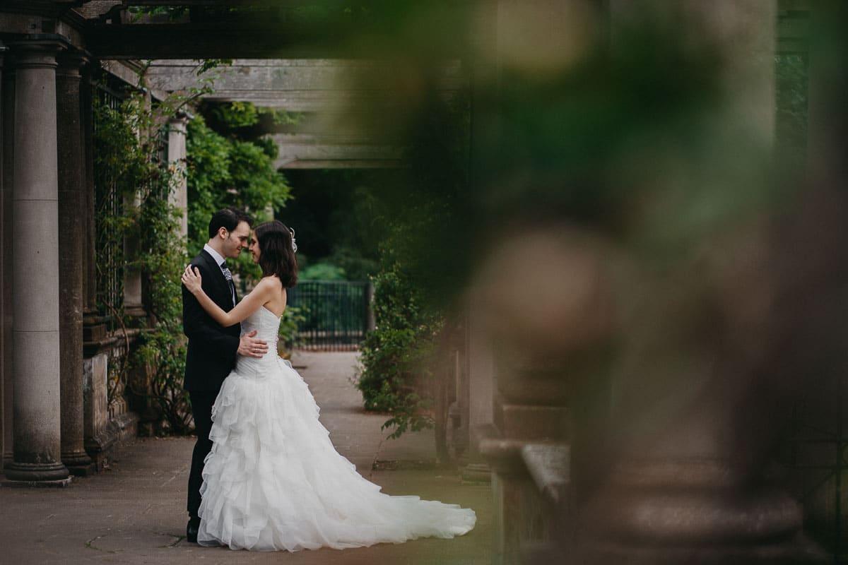 Sandra and Daniel - Wedding photoshoot London 3