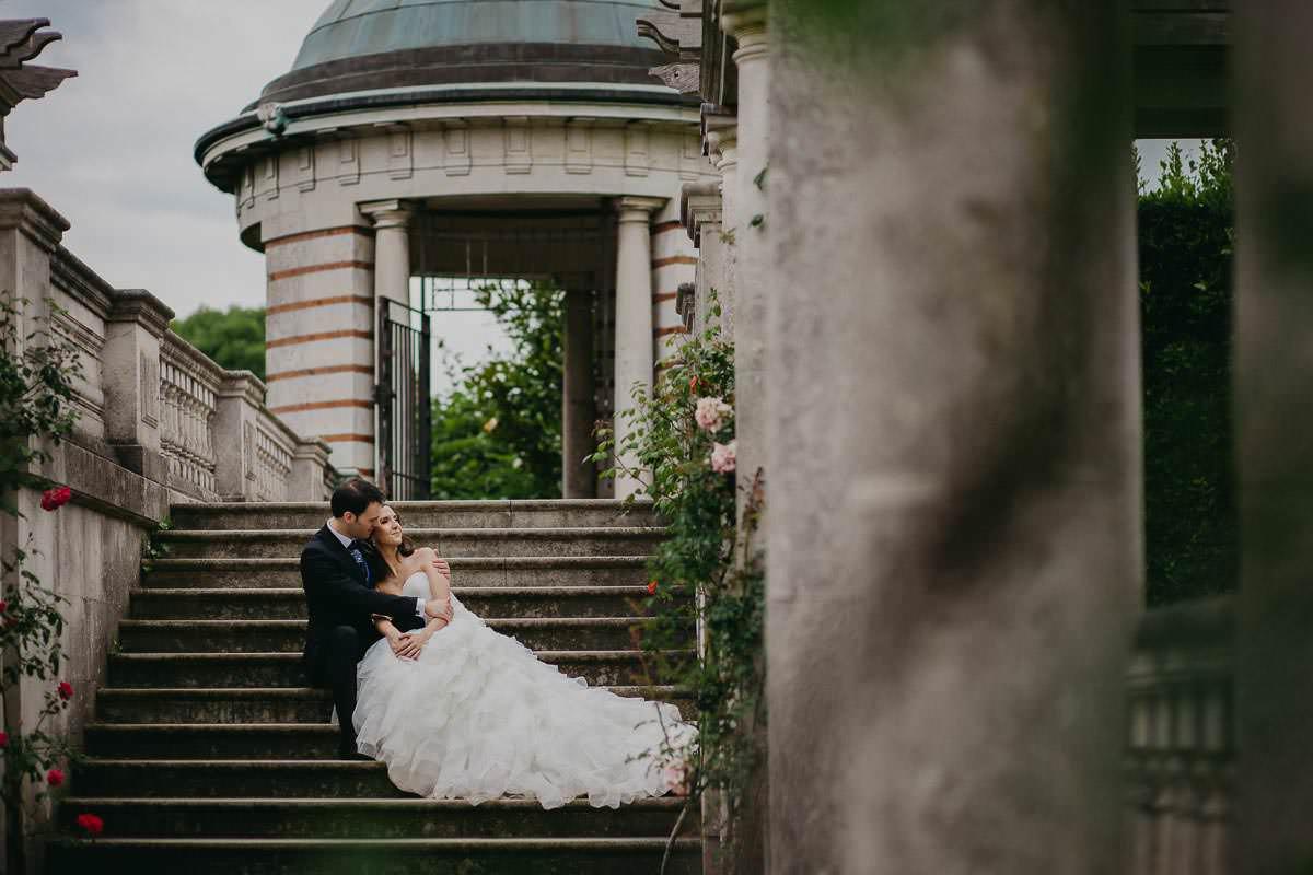 Sandra and Daniel - Wedding photoshoot London 12