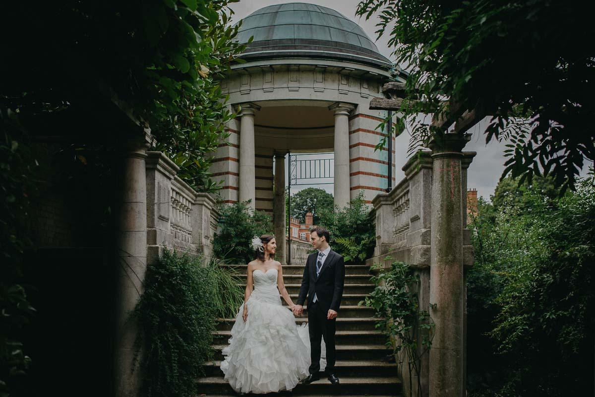 Sandra and Daniel - Wedding photoshoot London 15