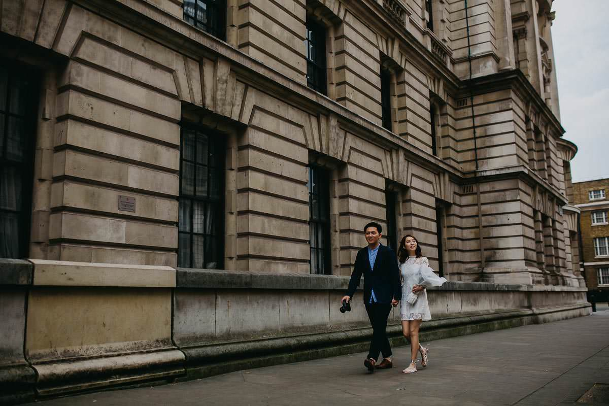 Yin & Rose - engagement shoot in London 11