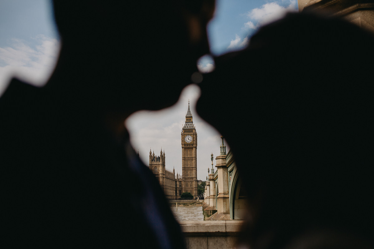 Yin & Rose - engagement shoot in London 18