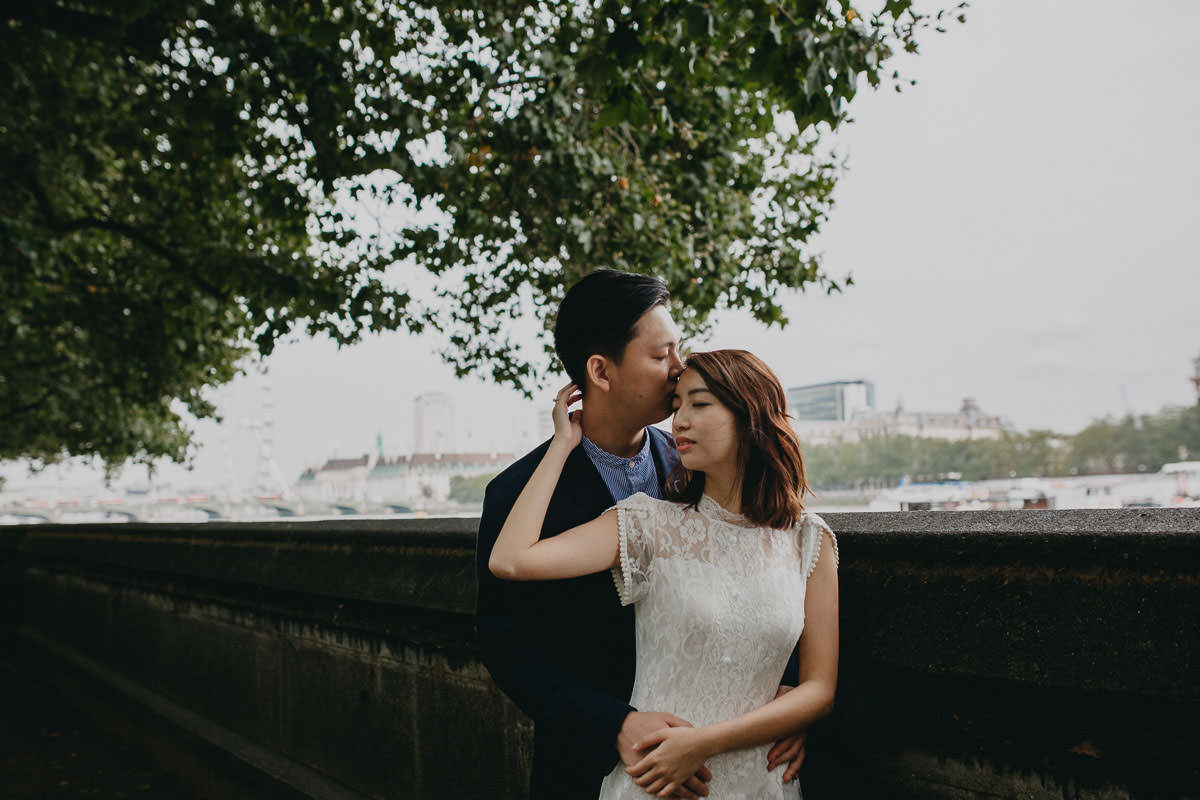 Yin & Rose - engagement shoot in London 22