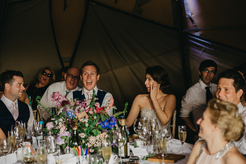 Sunny wedding in a tent - Wedding photographer Hampshire 90