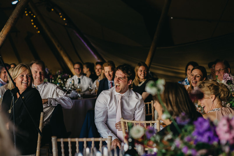 Sunny wedding in a tent - Wedding photographer Hampshire 95