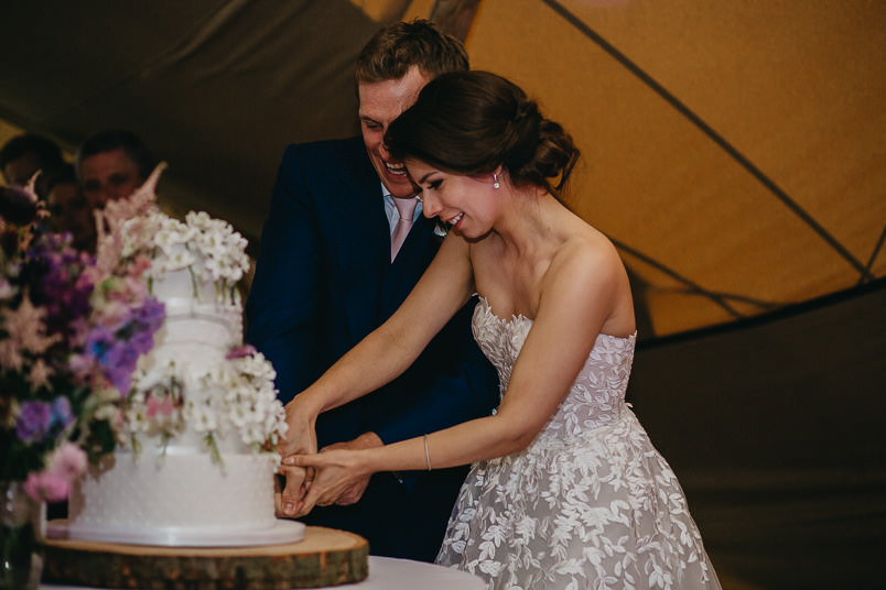 Sunny wedding in a tent - Wedding photographer Hampshire 98